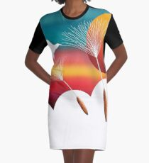 Wishes Graphic T-Shirt Dress