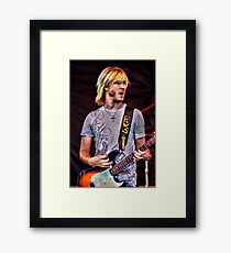 Kenny Wayne Shepherd Framed Print