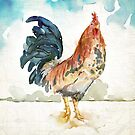 Rust Rooster by WestPhilly