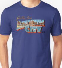 Greetings from Atlantic City, New Jersey 0b Unisex T-Shirt