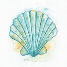 Aqua Scallop by dreampigment
