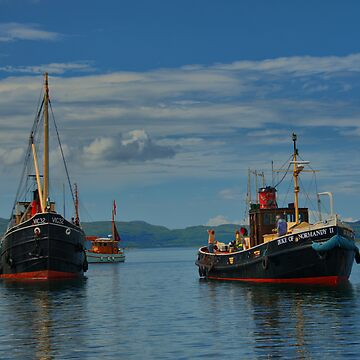 Steam Puffers at Crinan by agurney