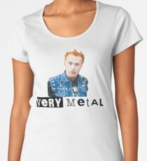 Very Metal Vyvyan Women's Premium T-Shirt