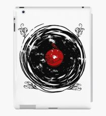 Enchanting Vinyl Records Vintage Twirls iPad Case/Skin