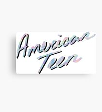 AMERICAN TEEN IRIDESCENT Metal Print