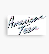 AMERICAN TEEN IRIDESCENT Canvas Print