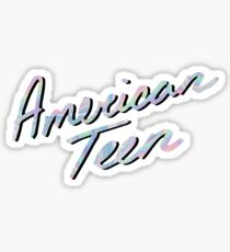 AMERICAN TEEN IRIDESCENT Sticker