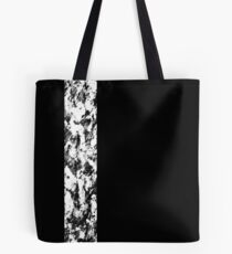 More black, less white #3 Tote Bag