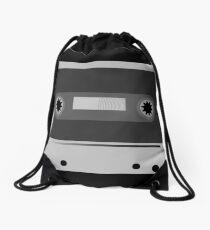 Cassette Tape Drawstring Bag