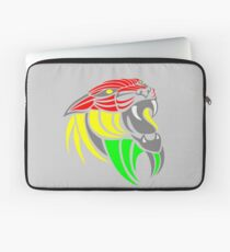 Reggae Music Cool Lion Reggae Colors T Shirts and Stickers Laptop Sleeve