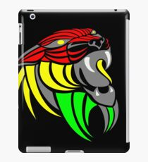 Reggae Music Cool Lion Reggae Colors T Shirts and Stickers iPad Case/Skin