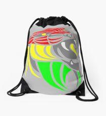 Reggae Music Cool Lion Reggae Colors T Shirts and Stickers Drawstring Bag