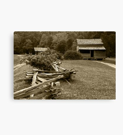 Mountain Home Canvas Print
