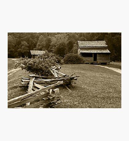 Mountain Home Photographic Print