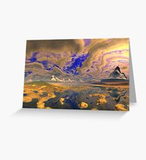 Painted Skies Greeting Card