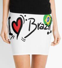 I LOVE BRAZIL Mini Skirt