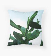 Prickly Pear Cacti Throw Pillow