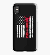 Flag Skiing iPhone Case/Skin
