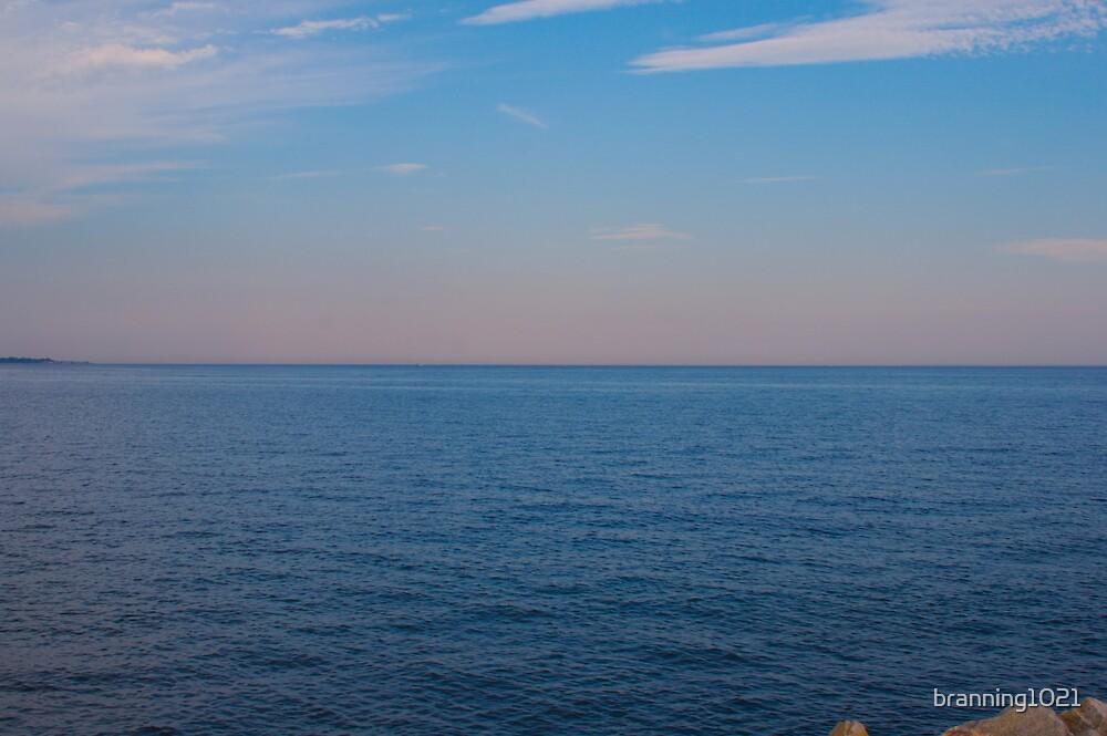 Seaside Sunset Bridgeport, CT USA by branning1021
