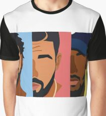 Drake, J Cole, Kendrick Lamar Shirt Graphic T-Shirt
