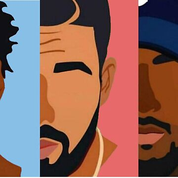 Drake, J Cole, Kendrick Lamar Shirt by samgendelman