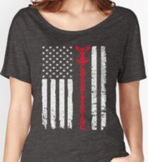 Flag Cheerleading Women's Relaxed Fit T-Shirt