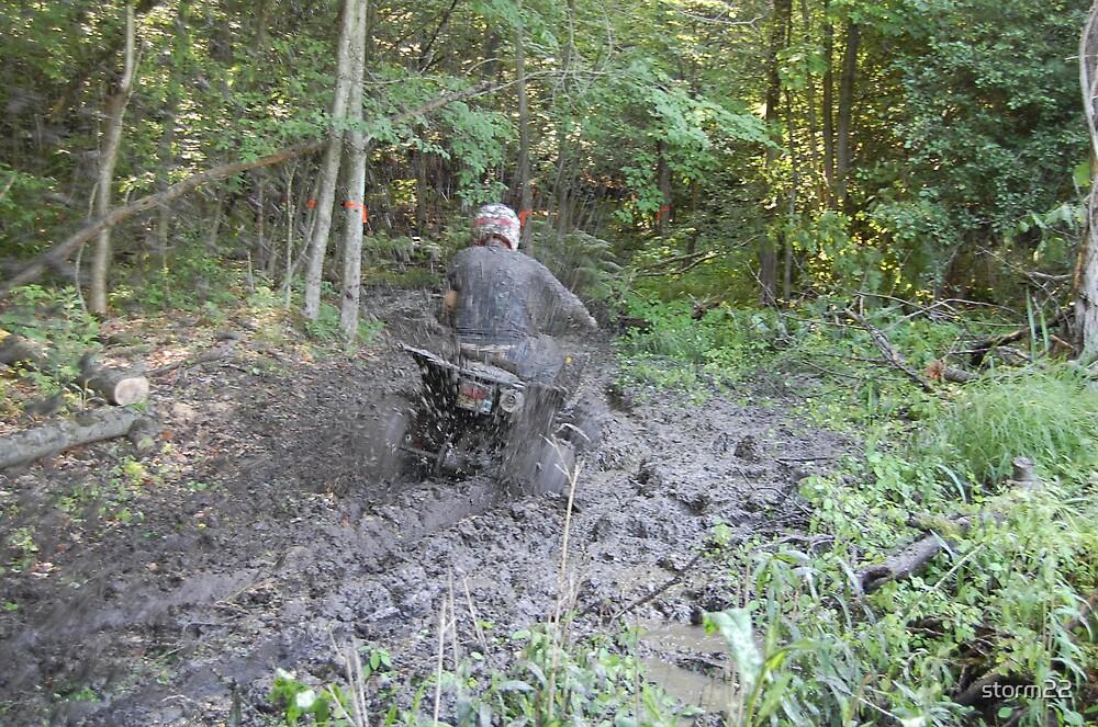 mud spray by storm22