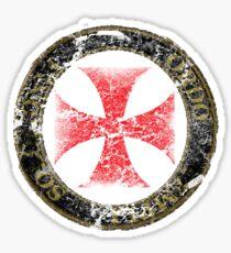 Knights Templar Seal Symbol Medieval T-Shirt  Sticker