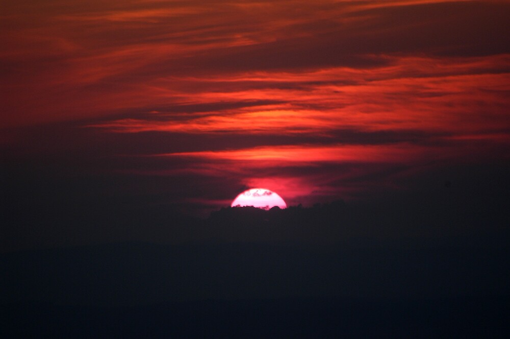 Our Departing Sunset by Tara Johnson
