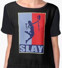 Slay! Women's Chiffon Top