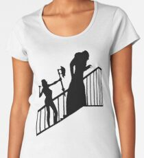 Buffy VS Count Orlok! Women's Premium T-Shirt