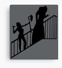 Buffy VS Count Orlok! Canvas Print