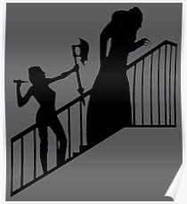 Buffy VS Count Orlok! Poster