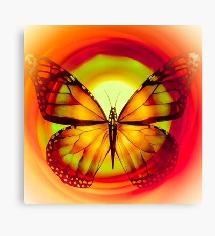 "Butterfly 6 (from ""Butterflies"" collection) Canvas Print"