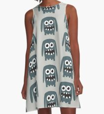 Monster Doggy II A-Line Dress