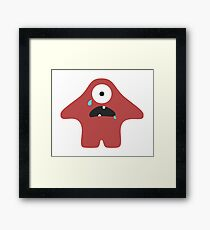 Cry Baby Framed Print