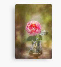 Rose in a Jar Canvas Print
