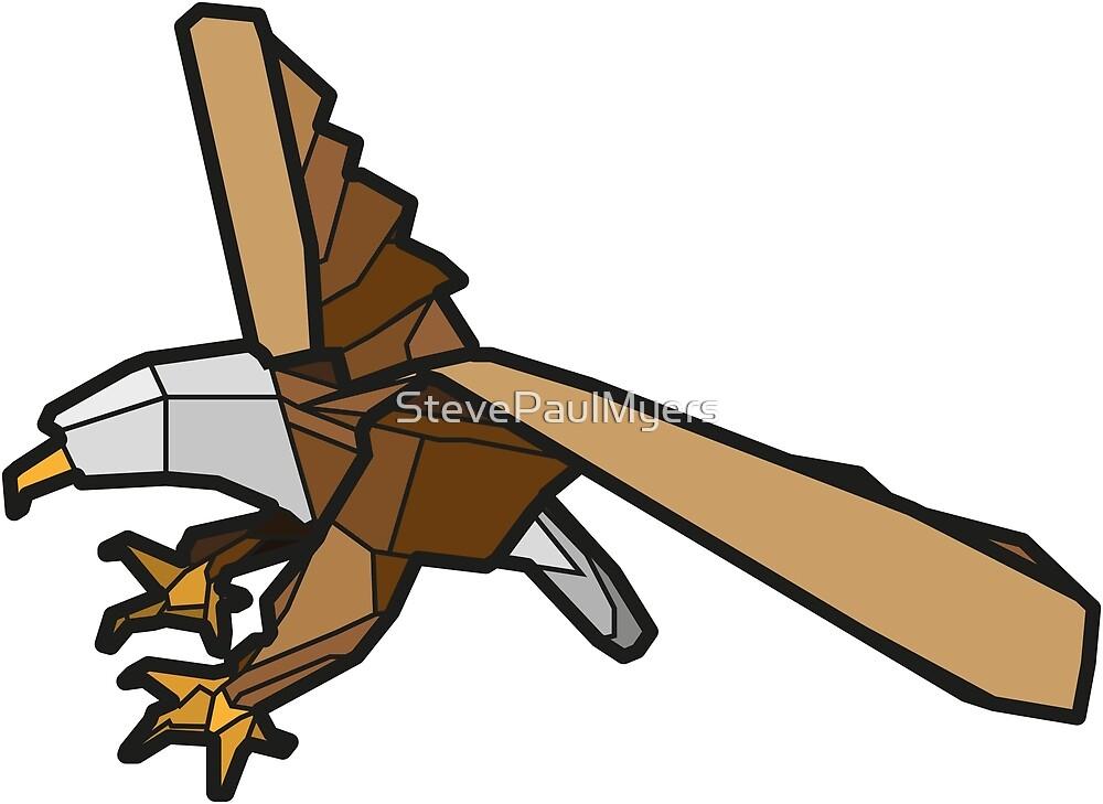 Origami Eagle by StevePaulMyers