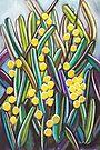 Pastels - Wattle  by Georgie Sharp
