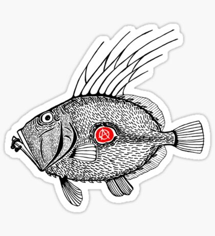 Punk fish 2 Sticker