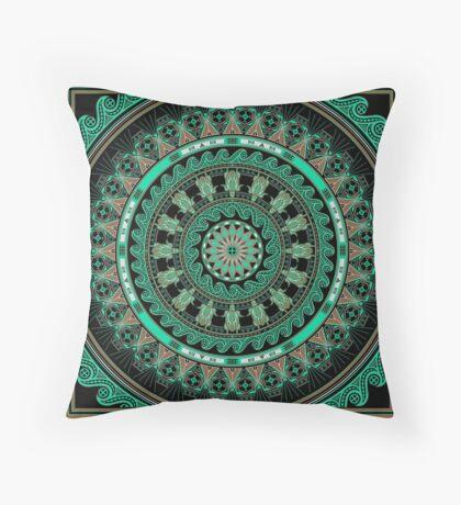 The Turtle (Keya)  Throw Pillow