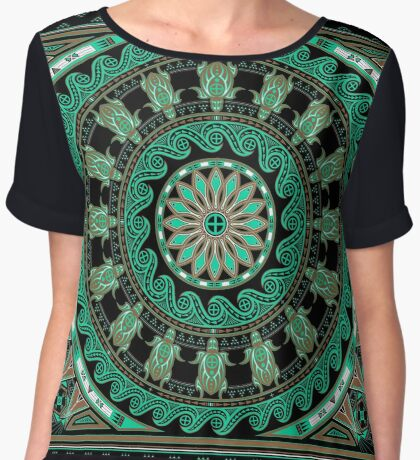 The Turtle (Keya)  Women's Chiffon Top
