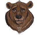 Happy Bear by Rebecca Gibbs