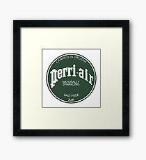 Perri-air Framed Print