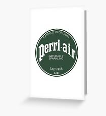 Perri-air Greeting Card