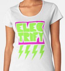 Electrify Women's Premium T-Shirt