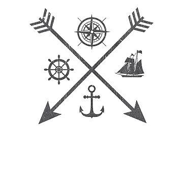 Nautical Sigil by TayRobertsArt