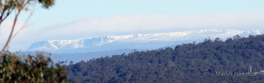 Western Tiers Viewed From Devonport by Martin Hampson