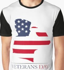 Veterans Day T-Shirt Kid Salute Graphic T-Shirt