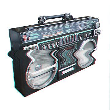 Boombox by the-real-duck